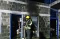 كفر ناحوم: احتراق مخزن شموع في الكنيسة اليونانية