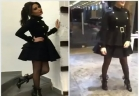 سيرين عبد النور ترقص برشاقة فستان أسود قصير