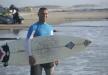جسر الزرقاء: الشاب محمد جميل يركب الأمواج في فرنسا