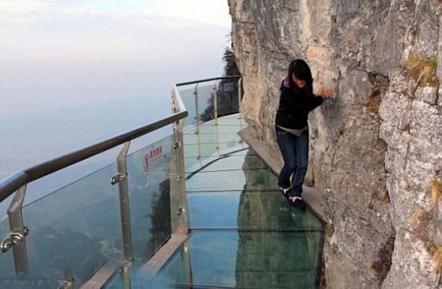 """جبل """"بوابة الجنة"""" في الصين"""