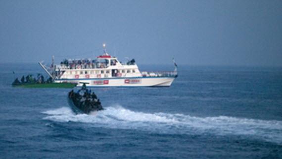 اسرائيل تتدرب لصد أسطول الحرية