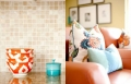 البرتقالي، ملك الألوان الجديد... داخل المنزل وعلى أثاثه