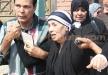 بكاء هيستيري للممثلة رجاء حسين في تشييع جثمان ابنها