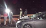 اصابتان بحادث طرق بشارع وادي عاره