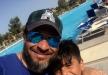 ماجد المصري في رحلة إلى السفاري مع إبنه