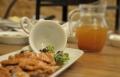 طبق تشرين: صدر دجاج بنكهة القهوة والبروميا