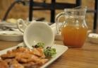 صدر دجاج بنكهة القهوة والبروميا