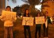 اطفال الطيبة يتظاهرون ضد قانون منع رفع الاذان