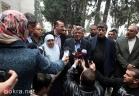 الأسير المحرر محمد التاج يصل مجمع فلسطين الطبي برام الله