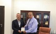 رئيس الجامعة العربية الأمريكية الأستاذ الدكتور أبو مويس يستقبل وفدا من بلدية بندك التركية