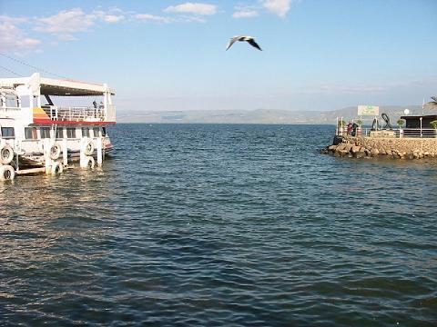 """بحيرة طبريا """"تهبط"""" رغم تقليص"""
