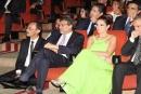 صور.. درة تتألق في مهرجان الإسكندرية السينمائي
