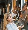 الأميرة هيا الفارسة: حصان يتيم أخرجني من القوقعة بعد وفاة والدتي