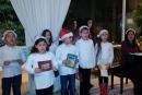 اطفال عرب يحيون امسية ميلادية في بيت سفيرة فنلندا