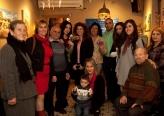إفتتاح معرض الفنانة التشكيلة كلارا أنطون بجاليري فتوش