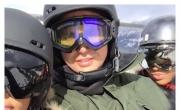 كيم كارداشيان وشقيقتاها يتزلّجن ويتمتعن بالثلوج