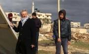 الدكتور البرغوثي: نشطاء المقاومة يبنون قرية بوابة القدس للمرة الثامنة