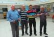 الكاتب محمد طه والفنان ميلاد مطر ضيفا مدرسة الخروبية ضمن السلة الثقافية في شفاعمرو