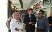 نائب المدير العام لبنك مركنتيل ومدير منطقة عكا يلتقيان اليوم العشرات من أصحاب المصالح في سخنين