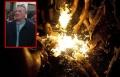 موشيه سيلمان بو عزيري الإسرائيلي يحرق نفسه احتجاجاً