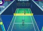 مباراة التنس