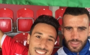 اللاعب محمد فودي مع المنتخب الفلسطيني لتحقيق حلم الوصول لكأس العالم