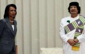 رايس: القذافي كان معجبا ويناديني