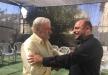 النائب مسعود غنايم يزور النائب السابق سعيد نفاع مهنئا تحرره من السجن