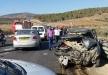 اصابة 3 شبان في حادث طرق على الطريق المؤدي بين عرابة ووادي سلامة