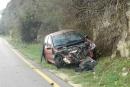 إصابة فتاة بحادث طرق ذاتي قرب عرابة
