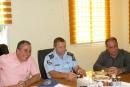 كفرقاسم: جلسة طارئة مع قيادات الشرطة بعد تسلل بعض قطعان المستوطنين الى البلده ليلا