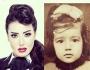شاهد لأول مرة.. صورة نادرة لـ سمية الخشاب فى طفولتها