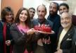 لطيفة تحتفل بعيد ميلاد خالد سليم