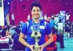 راغب علامة يحتفل بفوز ابنه ببطولة دولية