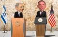 بالصور: إسرائيل ترحب بأوباما بالرسوم المتحركة