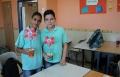 طلاب مدرسة سالم الاعدادية يبدعون بفعاليات الاسراء والمعراج