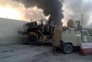مقتل نحو 40 قياديا بداعش كانوا داخل القنصلية التركية بالموصل