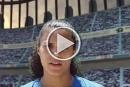 نورا ابو شنب تشارك في حملة اعلامية لدعم كرة القدم الاسرائيلية