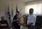 رئيس مجلس بستان المرج يكرم إدارة كلية عيمك يزراعيل