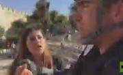 فيديو - الشرطة الإسرائيلية تعتدي على طاقم قناة RT في القدس