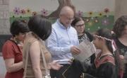 في إطار فعّاليات بنك مركنتيل لصالح المجتمع:  الإحتفال بافتتاح مكتبة في مدرسة بير الأمير في الناصرة