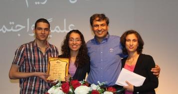 مدرسة يافة الناصرة تكرّم الاستاذ عزمي غميض بحصوله على لقب الدكتوراة في العلوم السياسية