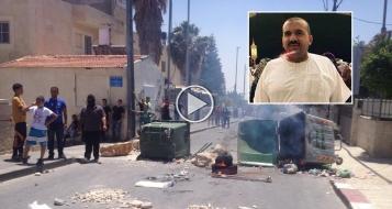 شاهدوا كيف تمت تصفية الشهيد عمران ابو ادهيم