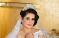مروة محمد بفستان الزفاف الأبيض