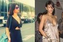 بالصور... هيفاء وهبي تقلد ريهانا وترتدي كوتشي وفستان أسود مثير