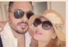 رامي عياش يتحدى زوجته بالماء المثلج!!
