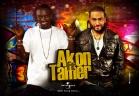 تامر حسنى والنجم العالمى  Akon - Welcome To The Life