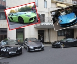 مواقف السيارات في لندن تكتظ بالسيارات العربية