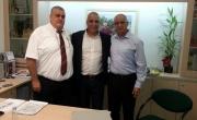 كبار مسؤولي الإدارة في بنك مركنتيل يزورون المجتمع العربي