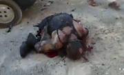 قصفته الطائرات الإسرائيلية فسجد مرتين وهو غارقٌ في دمه